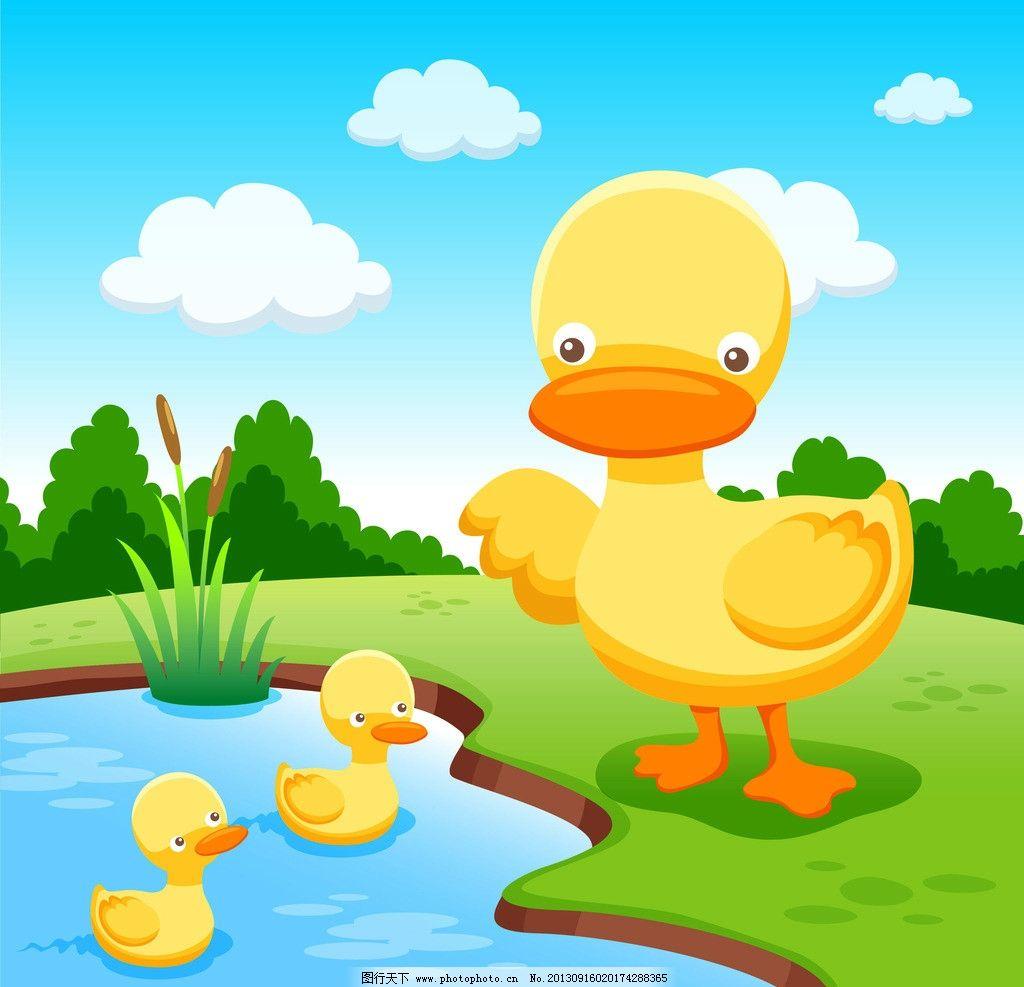 鸭子素材图片_其他_标志图标_图行天下图库