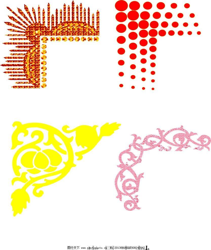 梦幻 幻影 炫彩 条幅 花纹 传统 节日 背景 矢量素材 eps 欧式花纹