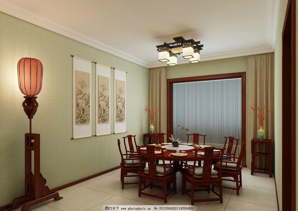 茶室 中式 包间 装修 效果图图片