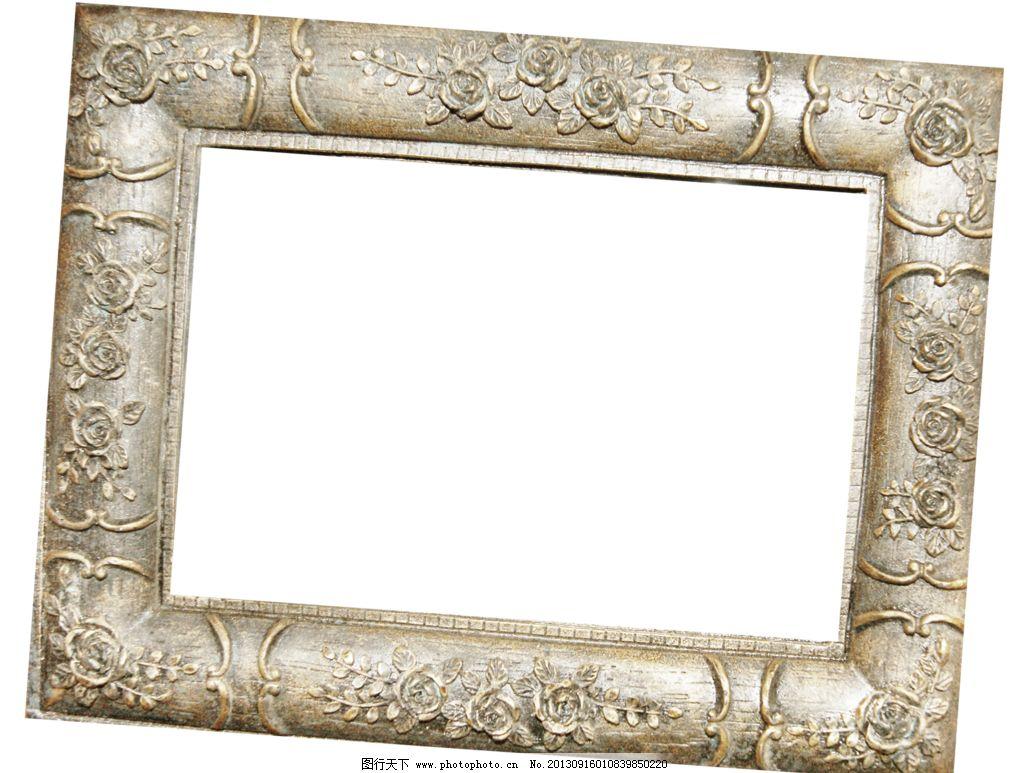 边框相框 底纹边框 复古 古典 花朵边框 花纹边框 画框 金属边框 欧式