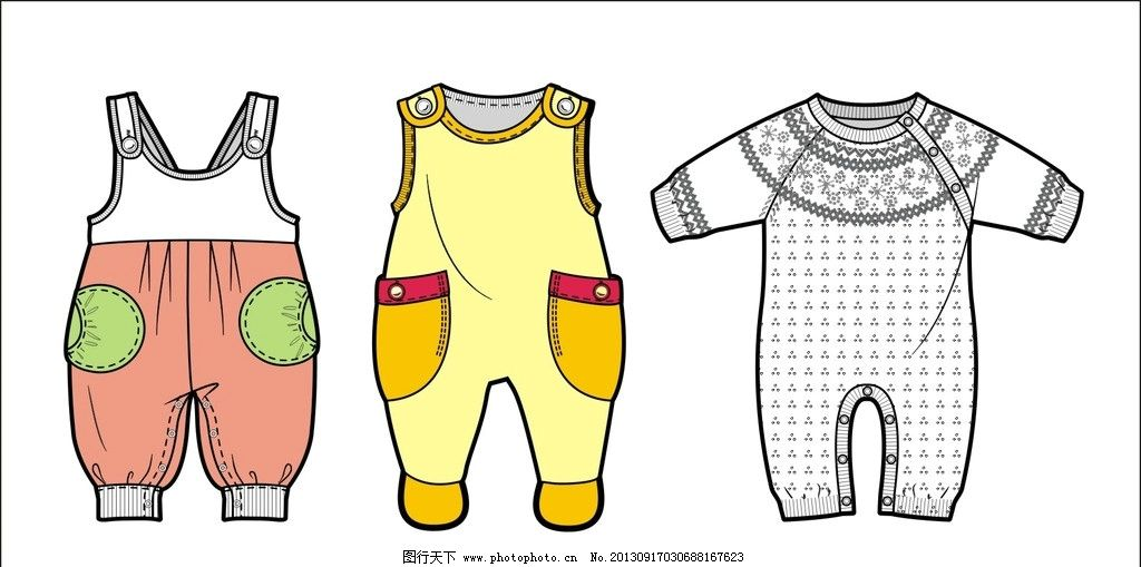 婴儿服装 儿童服装 幼儿服装 婴幼儿服装设计 婴幼儿服装 服装设计