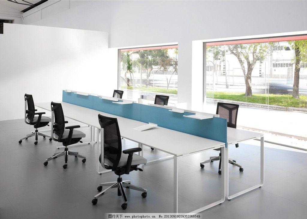 办公家具 电脑椅 转椅 会议室 落地窗 简约 桌子 室内 室内摄影 建筑