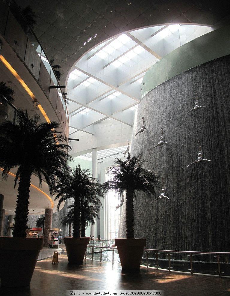 建筑大堂 雕塑藝術 后現代風格 室內工裝 哈利法塔 裝置藝術 裝飾設計