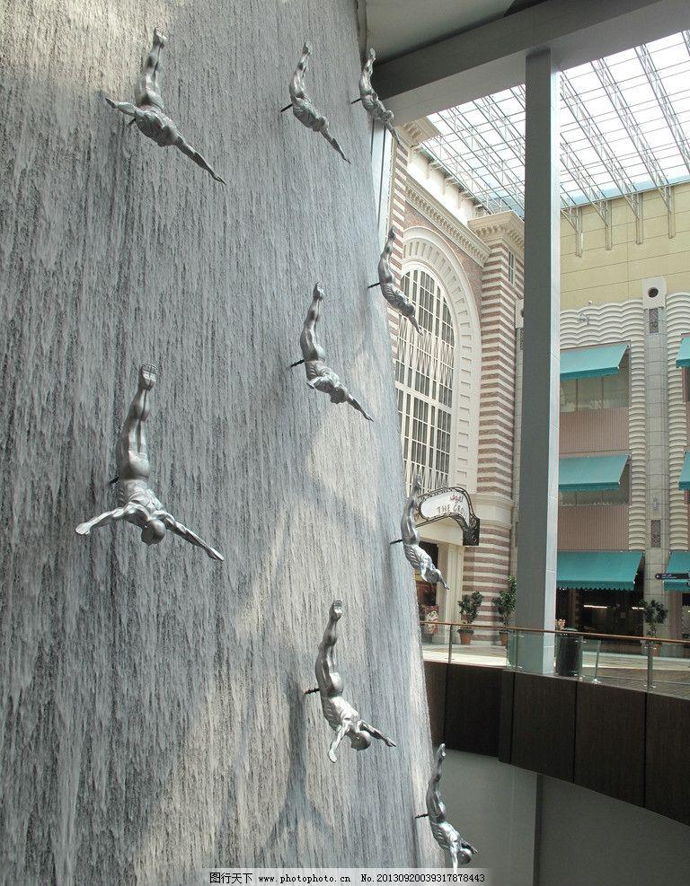装置雕塑 雕塑艺术 后现代风格 室内工装 哈利法塔 装置艺术 装饰设计