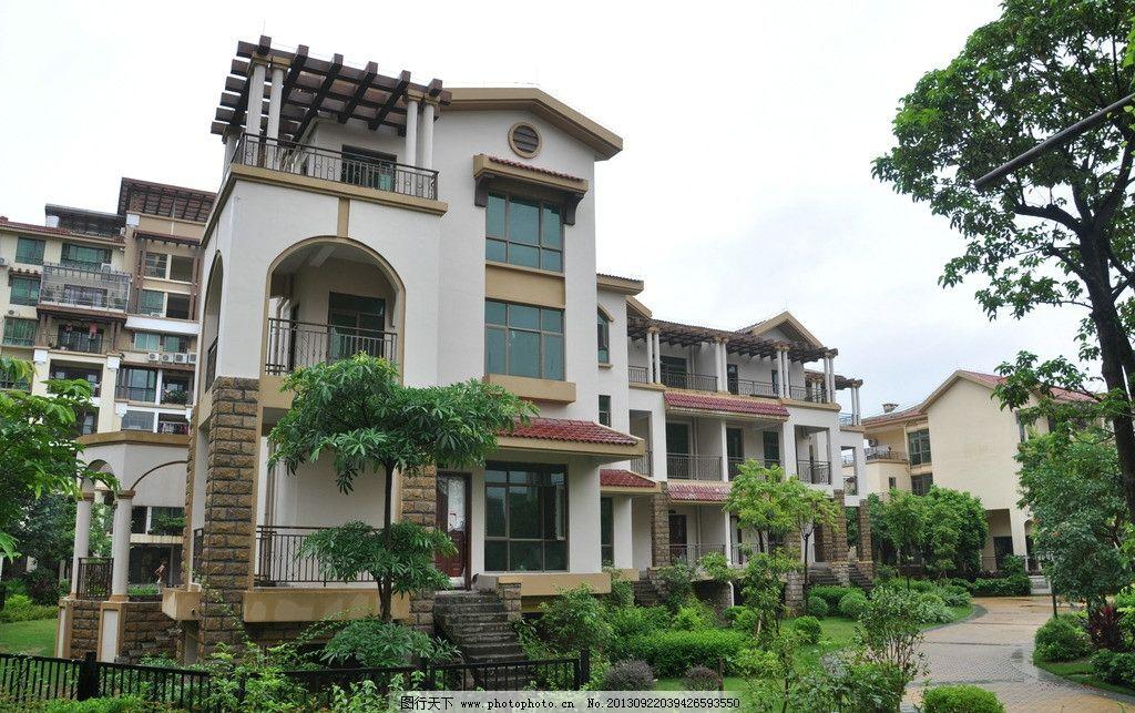 别墅 别墅图片素材下载 建筑 园林 房子 豪宅 环境 复式 高档住宅区