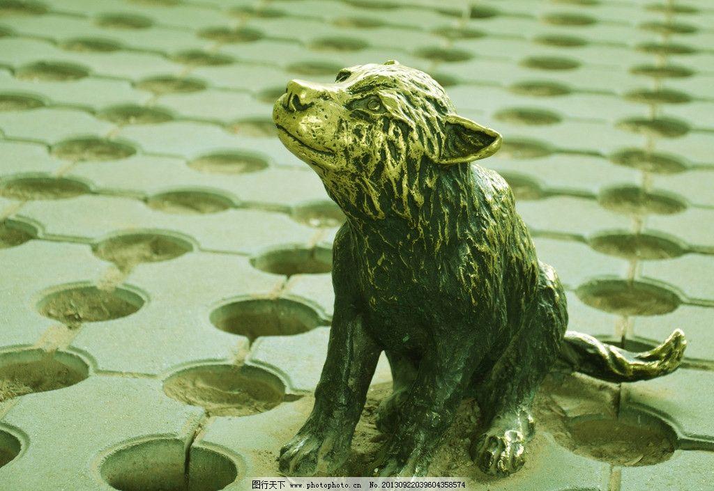 狼雕塑 雕塑      雕像 艺术      铜像 美术 艺术大师 动物雕像 狼像