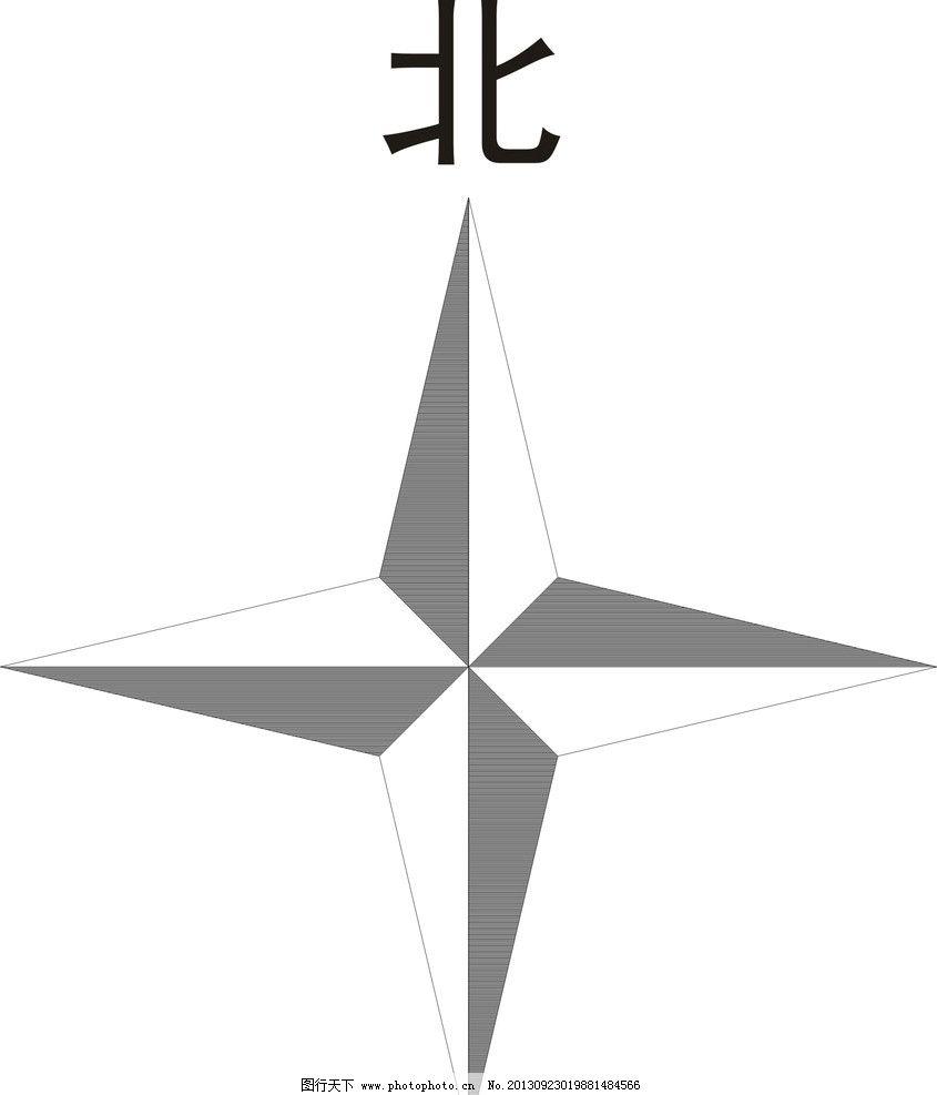 ps指北针图标_指北针 指南针 方向标 方位标 路标 公共标识标志 标识标志图标 矢量