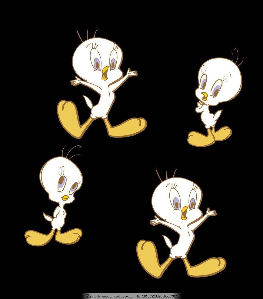 卡通鸟 小鸟 可爱 矢量 小白鸟 卡通设计 广告设计