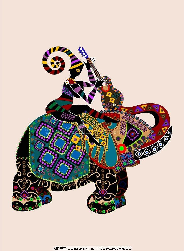非洲象 非洲风情 动物
