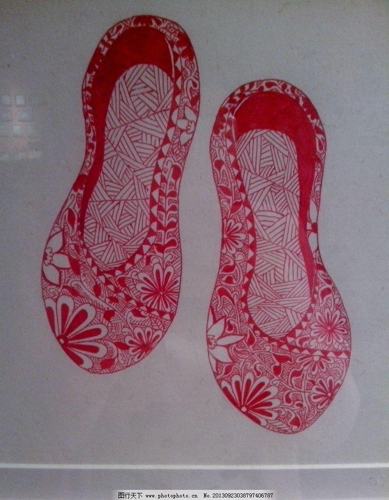 手绘插画 设计插画 创意插画 手绘人物 装饰画 装饰展览 画框