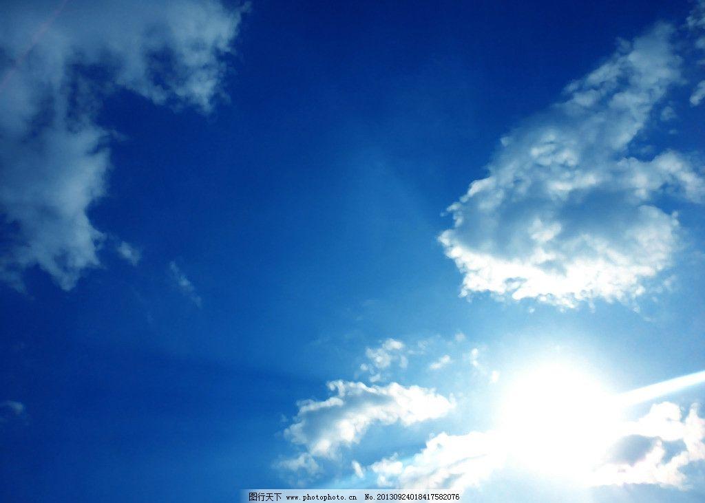 手绘天空 背景 场景 自然 太阳 绘画 动漫动画