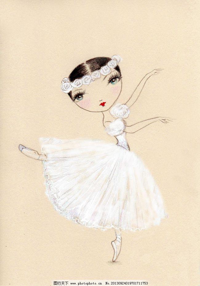 芭蕾 公主 可爱 女孩 跳舞 芭蕾 女孩 跳舞 可爱 公主 图片素材 插