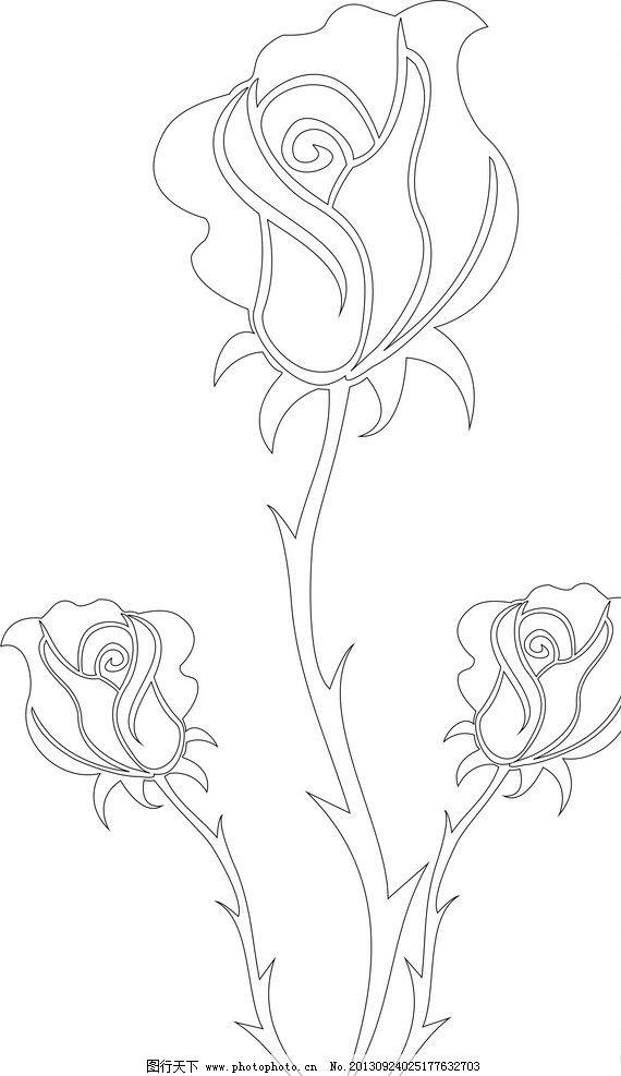 玫瑰妖姬矢量图 玫瑰 妖姬 花朵 花矢量图 花儿 花草 生物世界 矢量