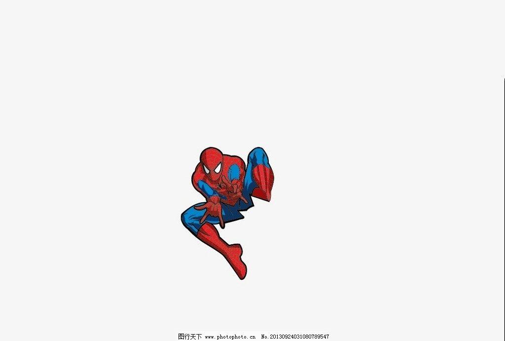 蜘蛛侠 矢量动漫人物 矢量 矢量动漫 动漫 动漫人物 动漫帅哥 帅哥 矢
