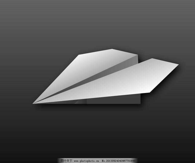 教你叠纸飞机_动画素材