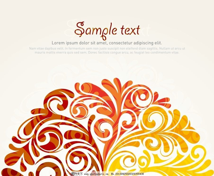扇形花纹图 花纹 扇形 金色花纹 扇子纹理 树形图 花纹花边 底纹边框