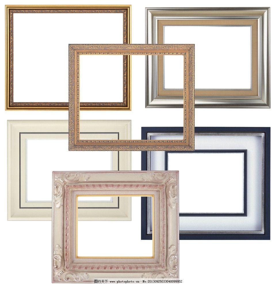 相框 木纹 画框 木框 华丽 金边 边框 花纹 边框相框 psd分层素材 源