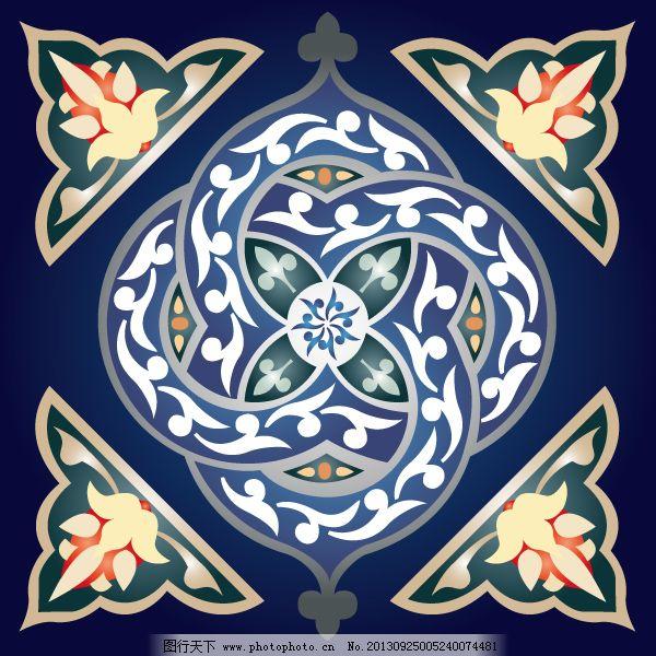 花纹免费下载 缠绕 底图 地毯 花纹 蓝色 欧式 纹理 欧式 花纹 底图
