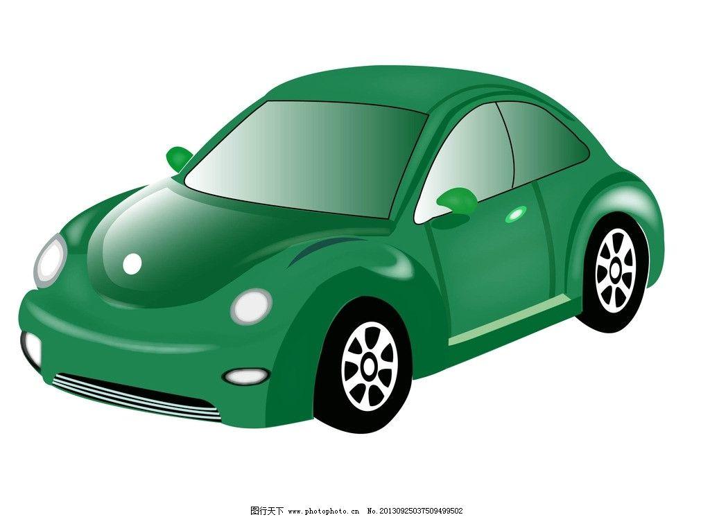 卡通汽车 小汽车 小轿车 卡通小汽车 卡通小轿车 汽车 轿车 绿色小车