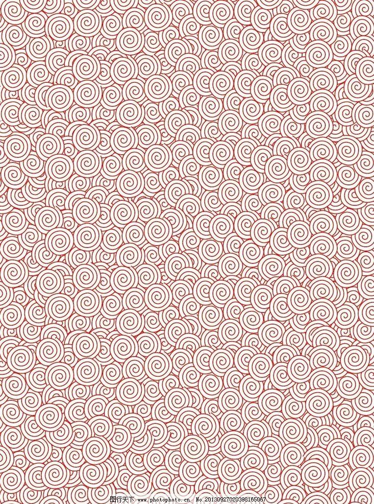 吉祥图案 矢量图 红色图案 花纹 花边 圆圈花纹 条纹线条 圈圈线条