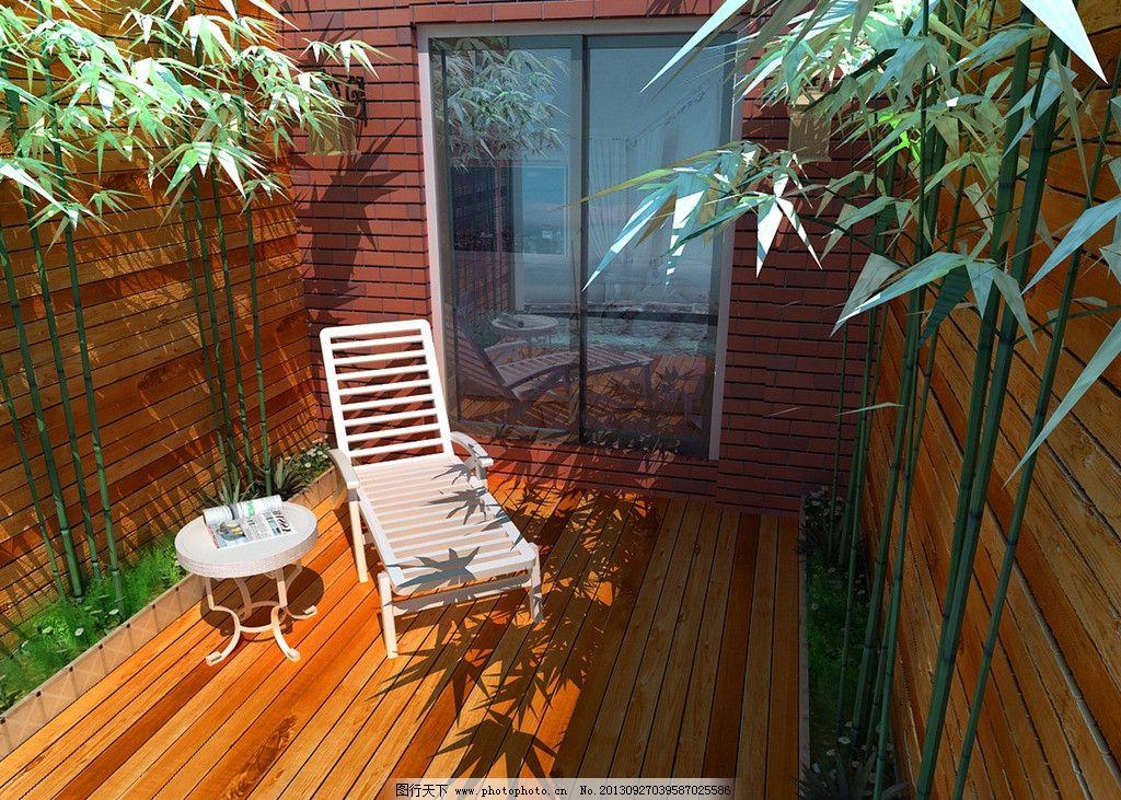 阳台绿化图片