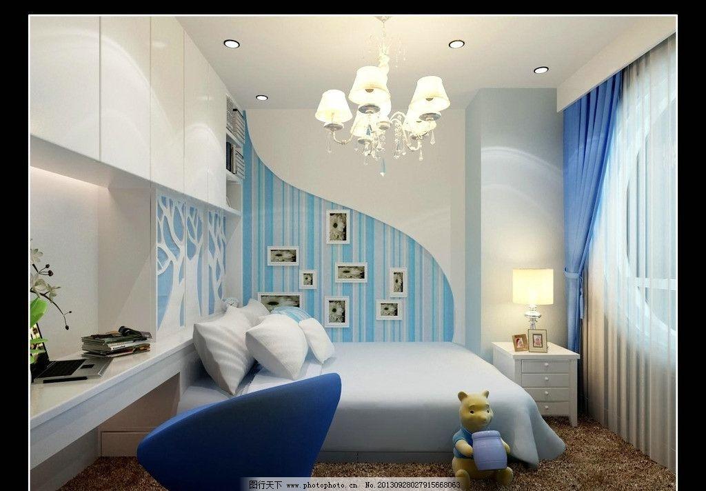 室内家居装饰 家居装饰 蓝色海洋      蓝色经典 现代 室内设计 环境