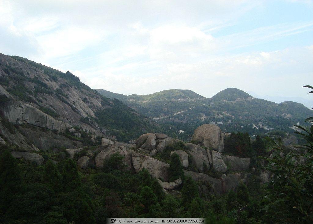 大罗山 大罗山风景 青山 岩石 自然风景 树 大罗山的风景 摄影