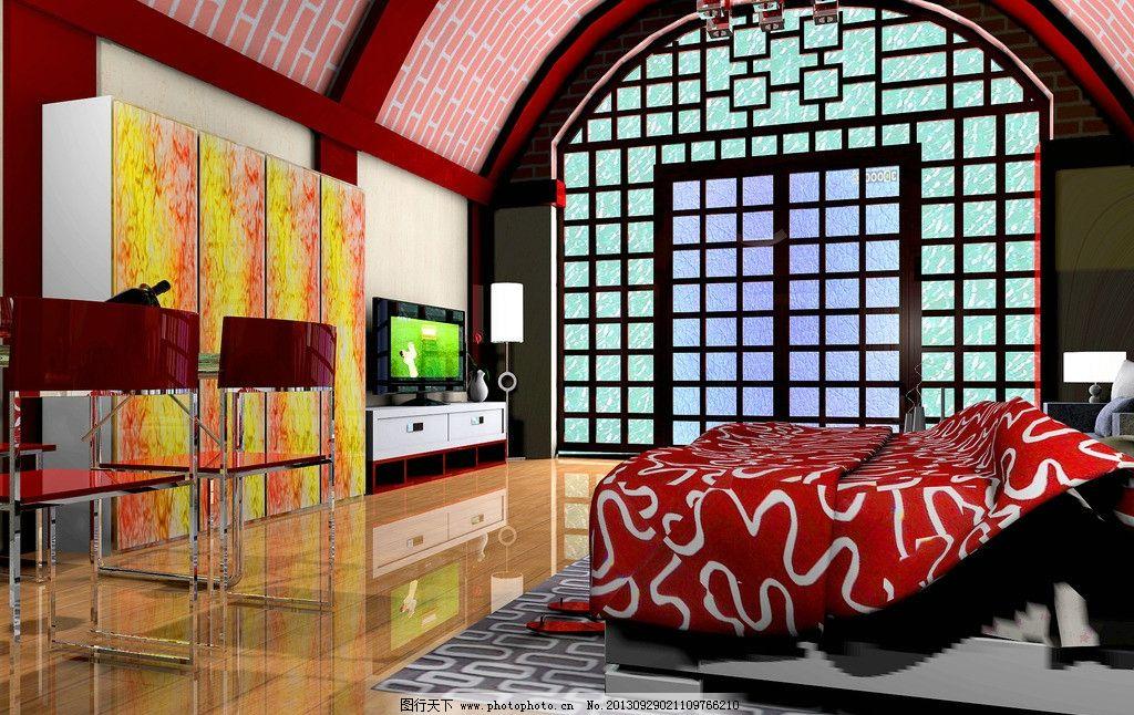 室内设计 窑洞 室内 装修