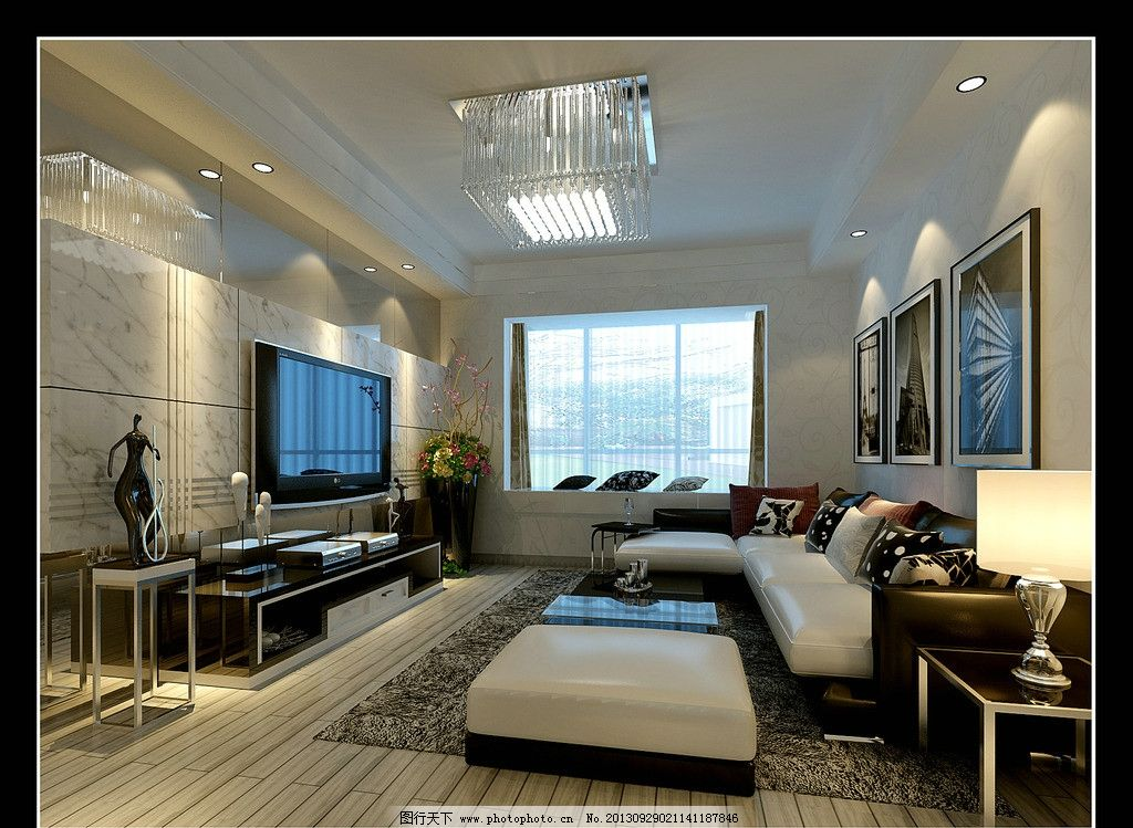 后现代客厅设计      设计